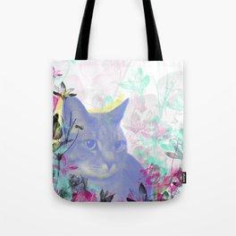 Lazy Kitty Tote Bag