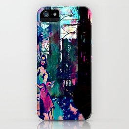 Dame From Buxom Street iPhone Case