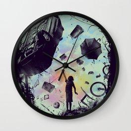 Gravity Play Wall Clock