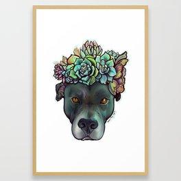 Plant Pup Framed Art Print