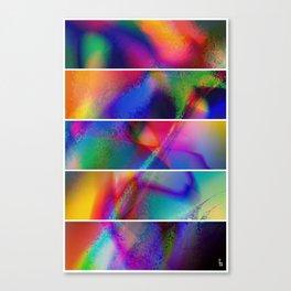 Aura Dream I (Five Panels Series) Canvas Print