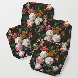 Still Life with Flowers by Jan Davidsz. de Heem Coaster