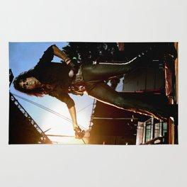 Alice Cooper Fence Stance Rug