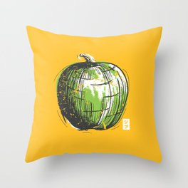 ceci n'est pas un t-shirt Throw Pillow
