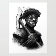Tin Man of Oz Art Print