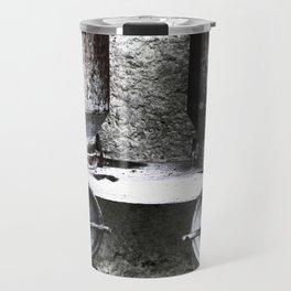 Alte Milchkannen aus den Alpen - Old milk cans from the Alps Travel Mug