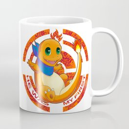 He was my first. Fire Generation I Coffee Mug