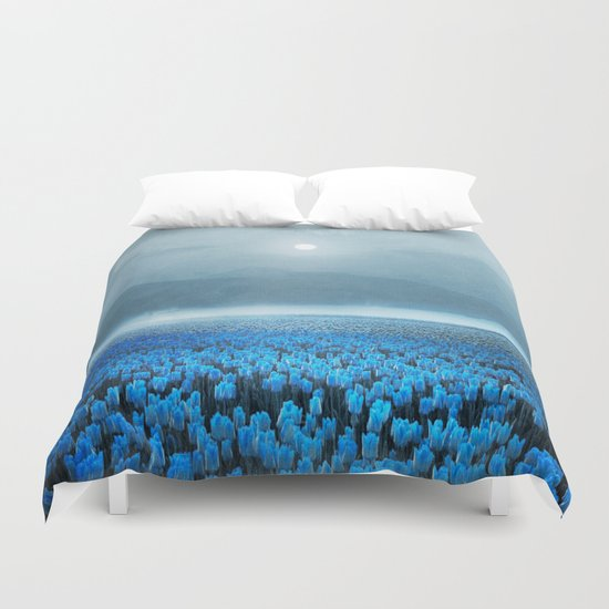 magical Tulips Duvet Cover