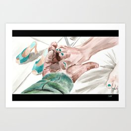 Bunny Lebowski Art Print