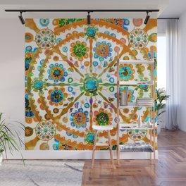 Mandala Flower Wall Mural