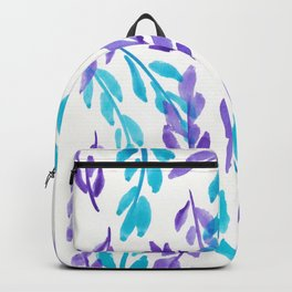 180726 Abstract Leaves Botanical  1 Backpack