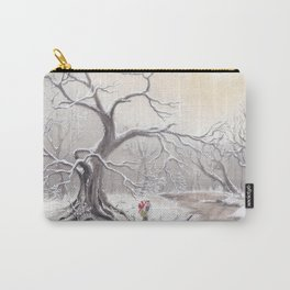 Gnome and fox Carry-All Pouch