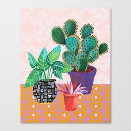 Plants Are Life Canvas Print