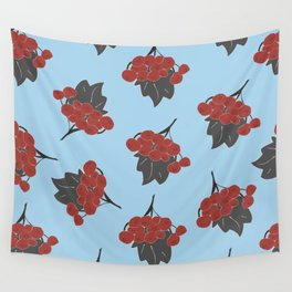 Autumn Berries Wall Tapestry