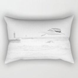 sea - flight Rectangular Pillow