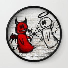 Devil-Angel Wall Clock