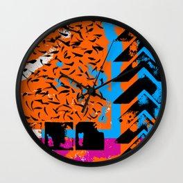 Colour composition 5 Wall Clock
