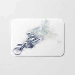 Flying High_Blue Bath Mat