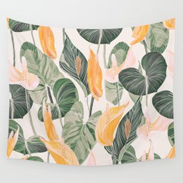 Lush Lily - Autumn Wall Tapestry