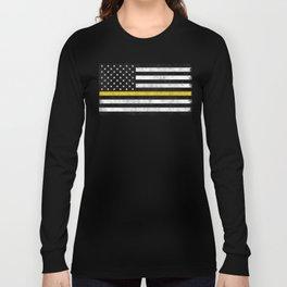 Thin Gold Line Long Sleeve T-shirt
