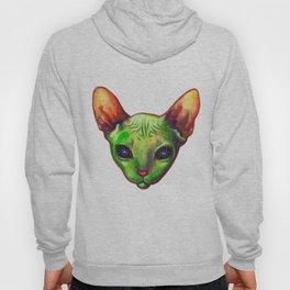 Alien sphynx cat Hoody