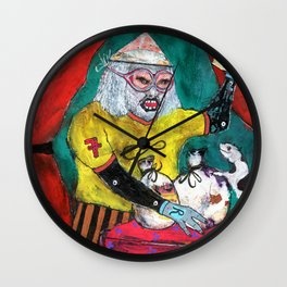 Alchimiste Wall Clock