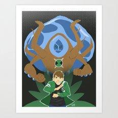 Ben10 Art Print