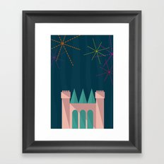 Princess Castle | Disney inspired Framed Art Print