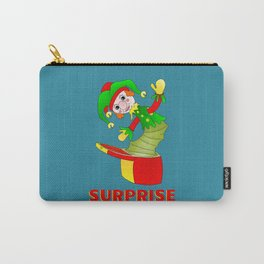 SURPRISE Jack in the Box Carry-All Pouch