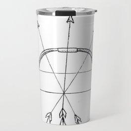 Sagittarius Zodiac Travel Mug