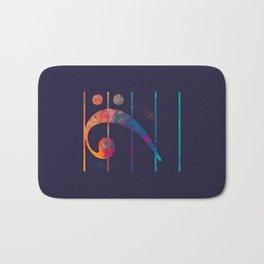 Bass Clef Color Bath Mat