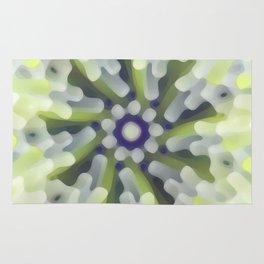 Bright Modern Star Rug