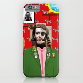 Wes Anderson illustration iPhone Case