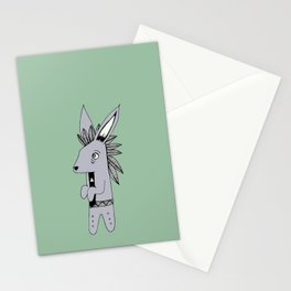 Timid Rabbit Stationery Cards