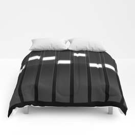 Light Grid Comforters