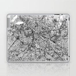 Berlin White Map Laptop & iPad Skin
