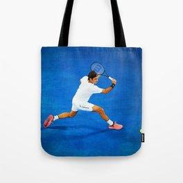 Roger Federer Sliced Backhand Tote Bag