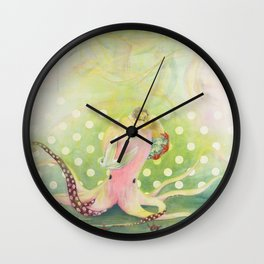 Goodbyes Suck Wall Clock