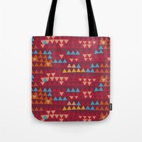 indian Tote Bags featuring indian by spinL