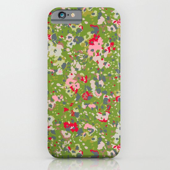 painted floral iPhone & iPod Case