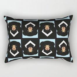 Sloth bear Rectangular Pillow