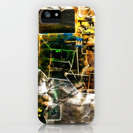 Burned Colors iPhone Case