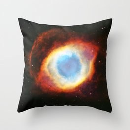 Helix Nebula Throw Pillow