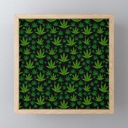 Infinite Weed Framed Mini Art Print
