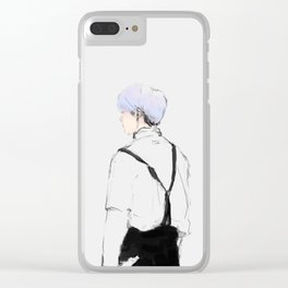 Suspenders Clear iPhone Case