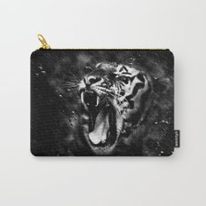 Tiger Head Wildlife Carry-All Pouch