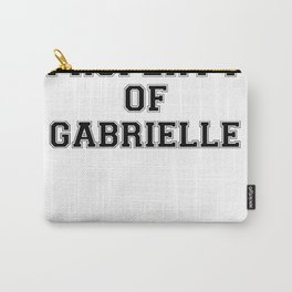 Property of GABRIELLE Carry-All Pouch