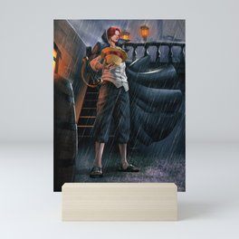 Shanks red hair One Piece Mini Art Print