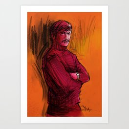 BRONSON VERSION 1 Art Print