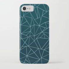 Ombre Ab Teal iPhone 7 Slim Case